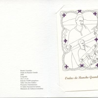Ondas de Rancho Grande en El Tiempo. Edición Proyecto Transmisiones Salón Nacional de Artistas