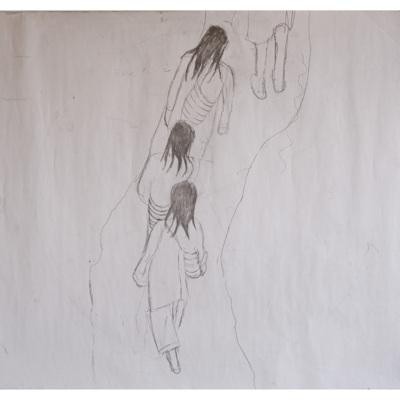 Boceto papel de colgadura Historias Wiwa.jpg