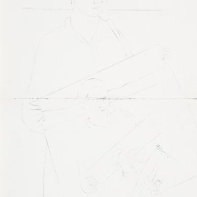 Transmisiones Ondas de Rancho Grande (Boceto inicial). Serie Transmisiones.
