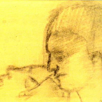 Boceto 2 Segunda Piedad